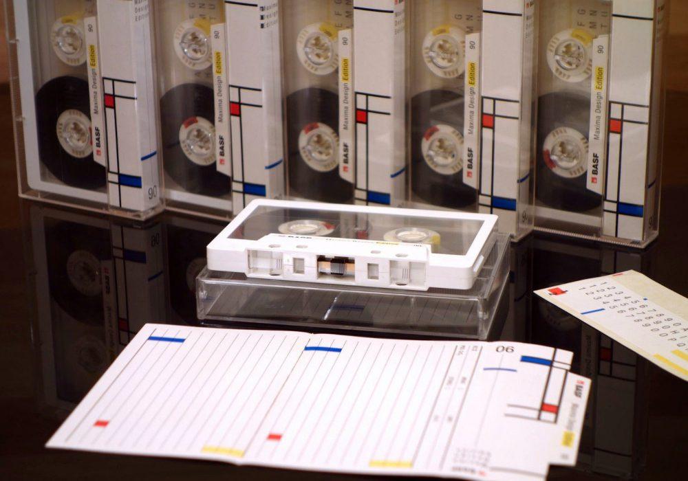 BASF Chrome Maxima II 90 盒式录音带