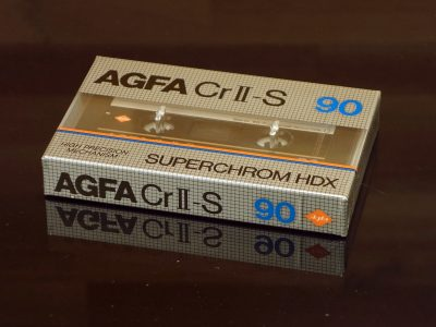 AGFA CrII-S 90 (1982) 盒式录音带