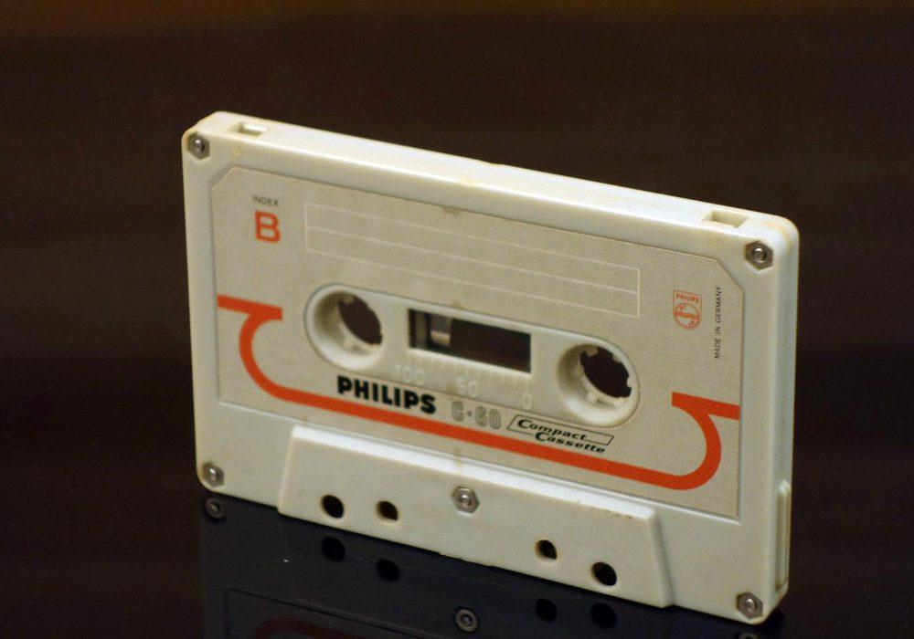 PHILIPS C-60 (1966) 盒式录音带