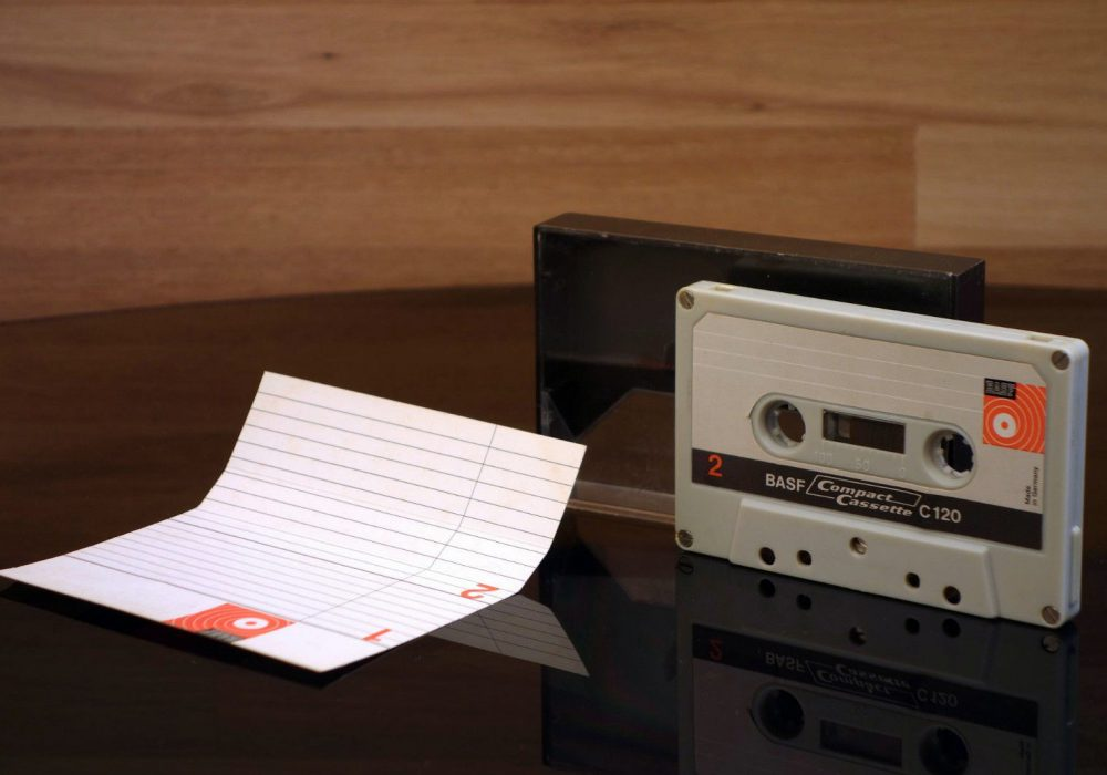 BASF C120 (1968) 盒式录音带