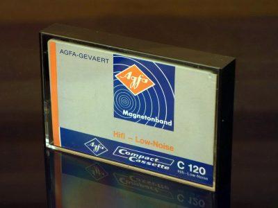 AGFA C120, 1968 盒式录音带