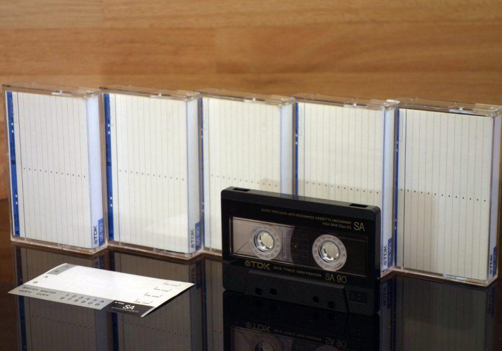 TDK SA90 (1987) 盒式录音带