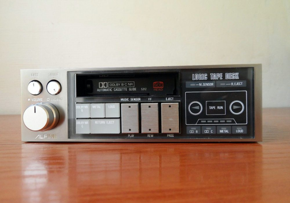 ALPINE 5312 车载磁带机
