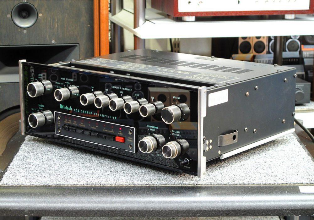McIntosh C33 前级放大器
