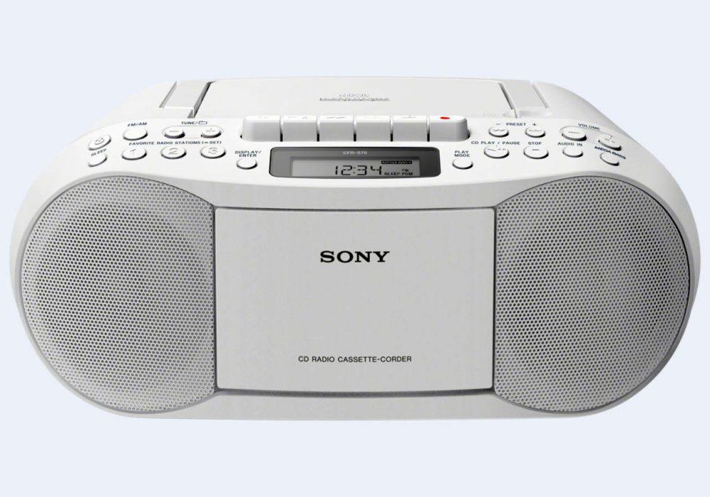 索尼 SONY CFD-S70 磁带/CD/收音机 一体机 面包机