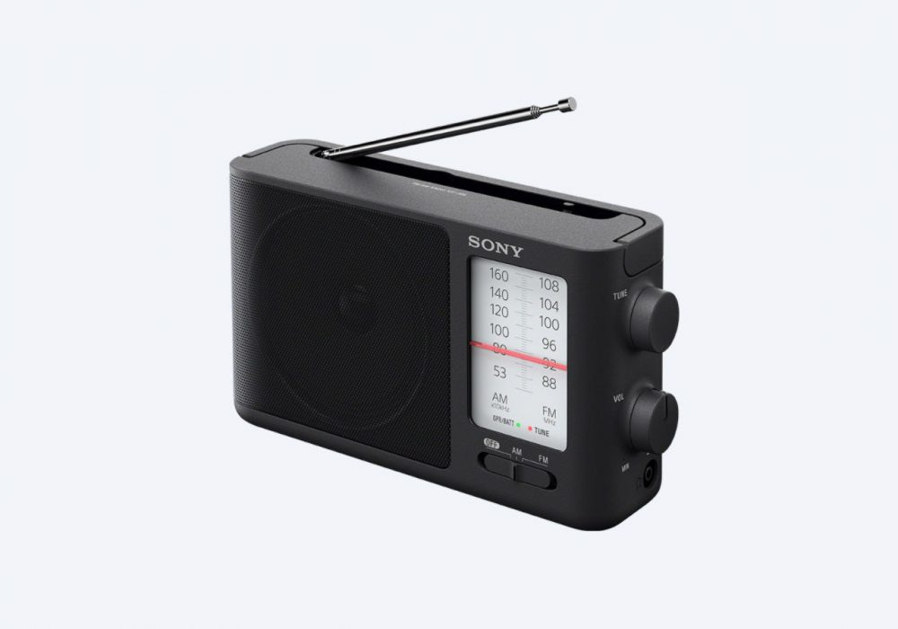 索尼 SONY ICF-506 Analog Tuning FM/AM 便携式收音机