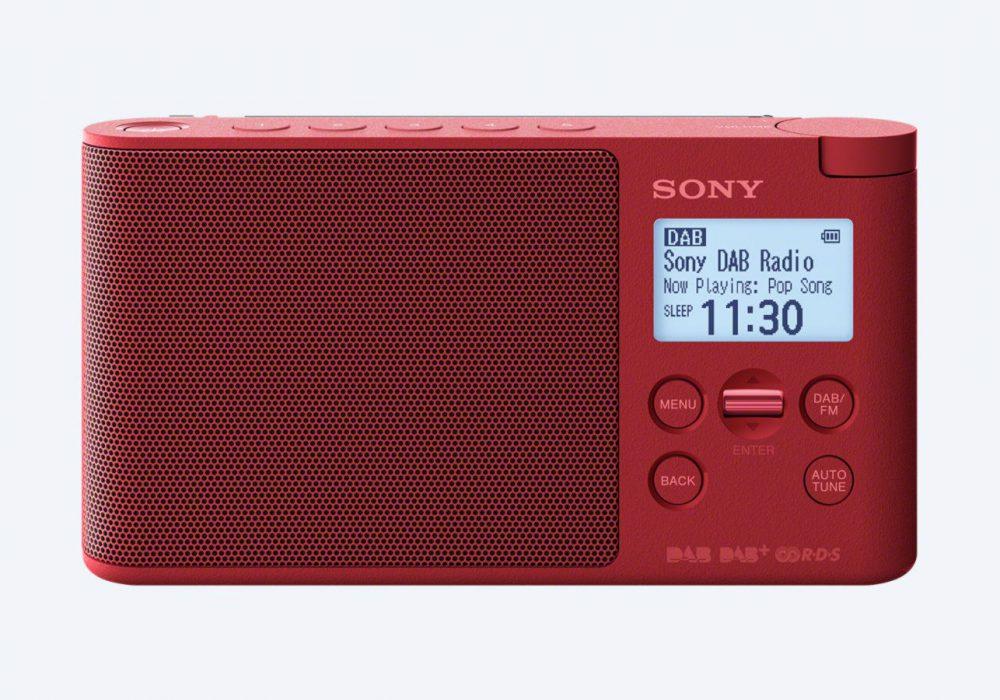 索尼 SONY XDR-S41D 便携 DAB/DAB+ 收音机