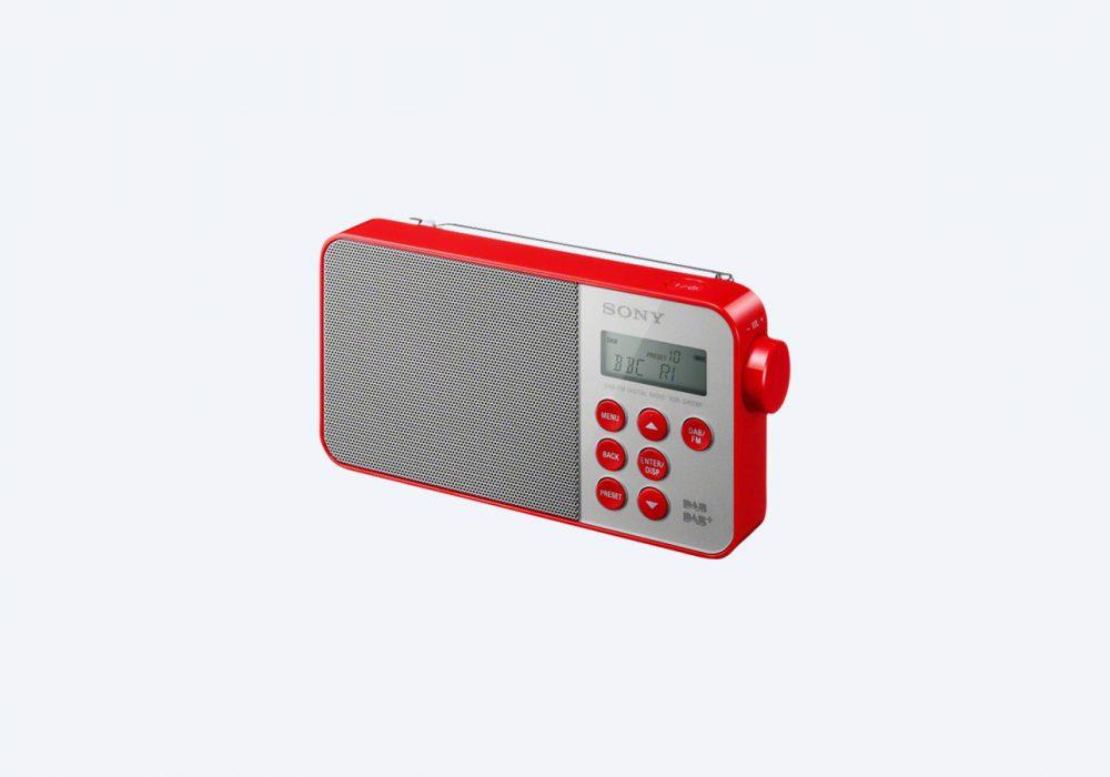 索尼 SONY XDR-S40DBP 便携 DAB Digital 收音机