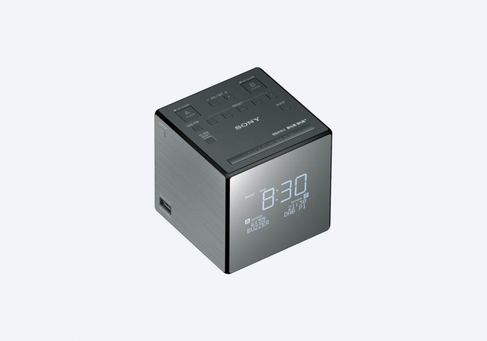 索尼 SONY XDR-C1DBP Pocket DAB/DAB+ Clock 收音机