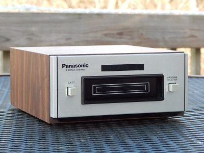 松下 Panasonic RS-801 8 Track Tape 8轨磁带卡座