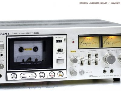 索尼 SONY TC-229SD 卡座