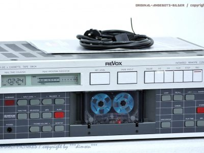 REVOX/STUDER B215 High-End 磁带卡座 1A-Zustand+BDA<wbr/>! Revidiert+1J.G<wbr/>arantie!!