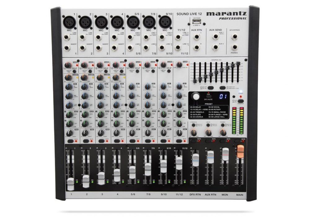 马兰士 Marantz Sound Live 12 调音台