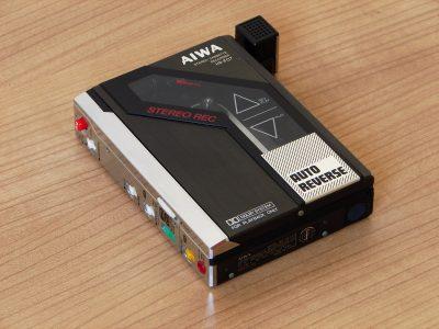 爱华 AIWA Recording 随身听 HS-F07 reproductor de 磁带 personales