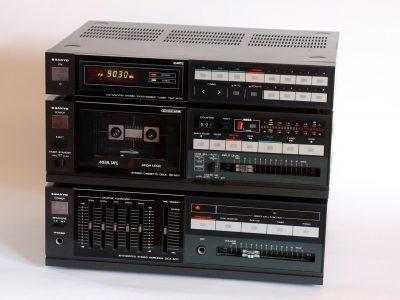 Sanyo M17 磁带/收音/均衡器 组合音响