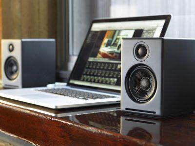 声擎 Audioengine A2+ (Satin Black) 有源音箱