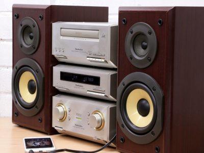 Technics SC-HD350 CD/收音 组合音响