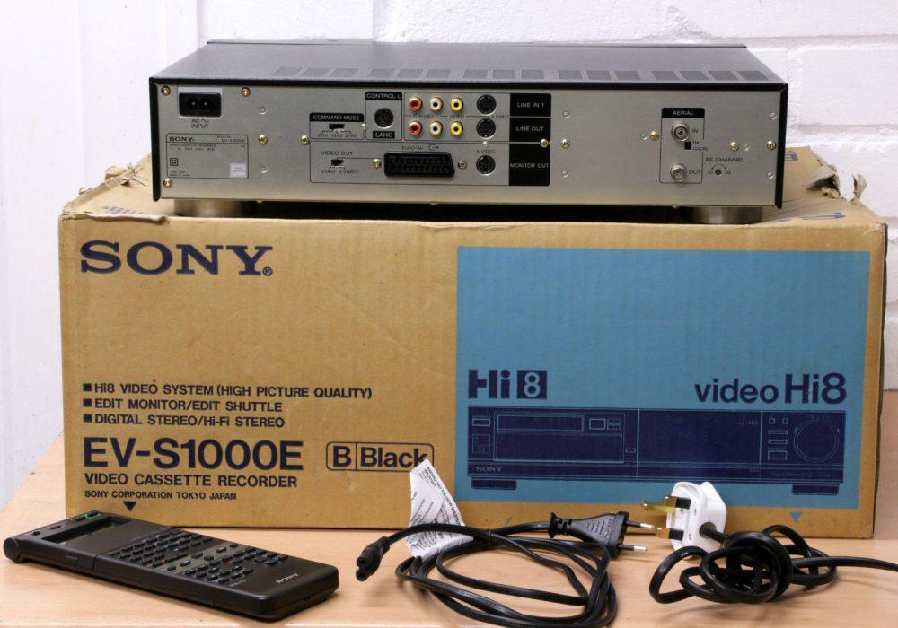 索尼 SONY EV-S1000E Video Hi8 录像机
