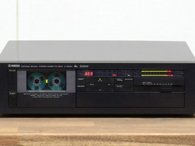 雅马哈 YAMAHA K-2000 High-End Tapedeck / Kassettendeck in schwarz
