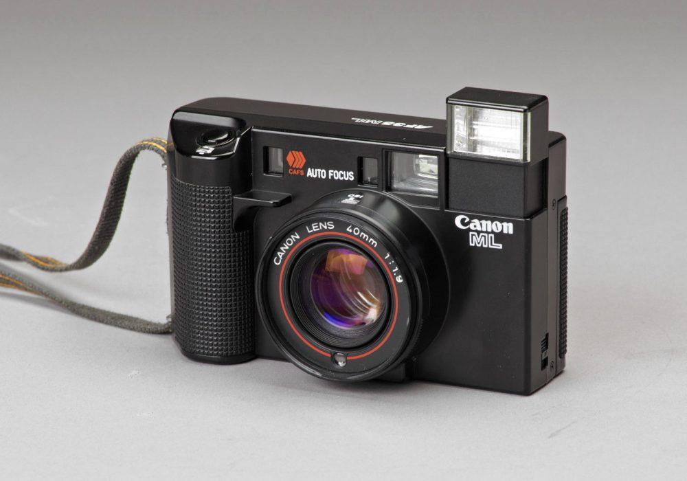 Canon AF35ML Sure Shot 35mm Film Camera w/40mm f1.9-Low Light Cult Classic+Xtras