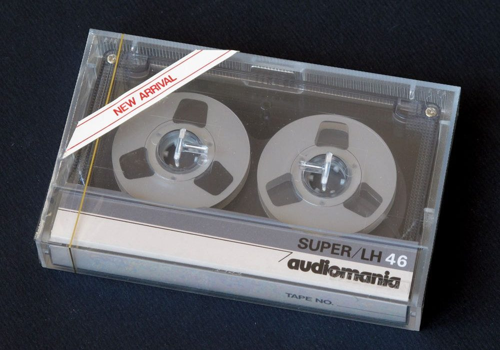 Audiomania Super/LH46 Reel to Reel cassette tape !
