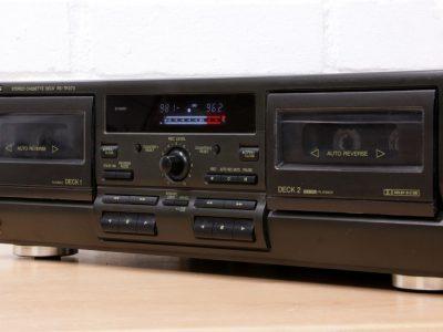 松下 Technics RS-TR373 Hi-Fi analogue double twin cassette tape deck Dolby B/C