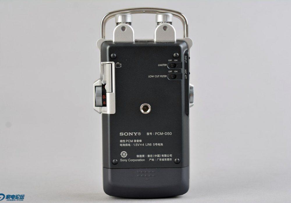 SONY PCM-D50 数码录音机