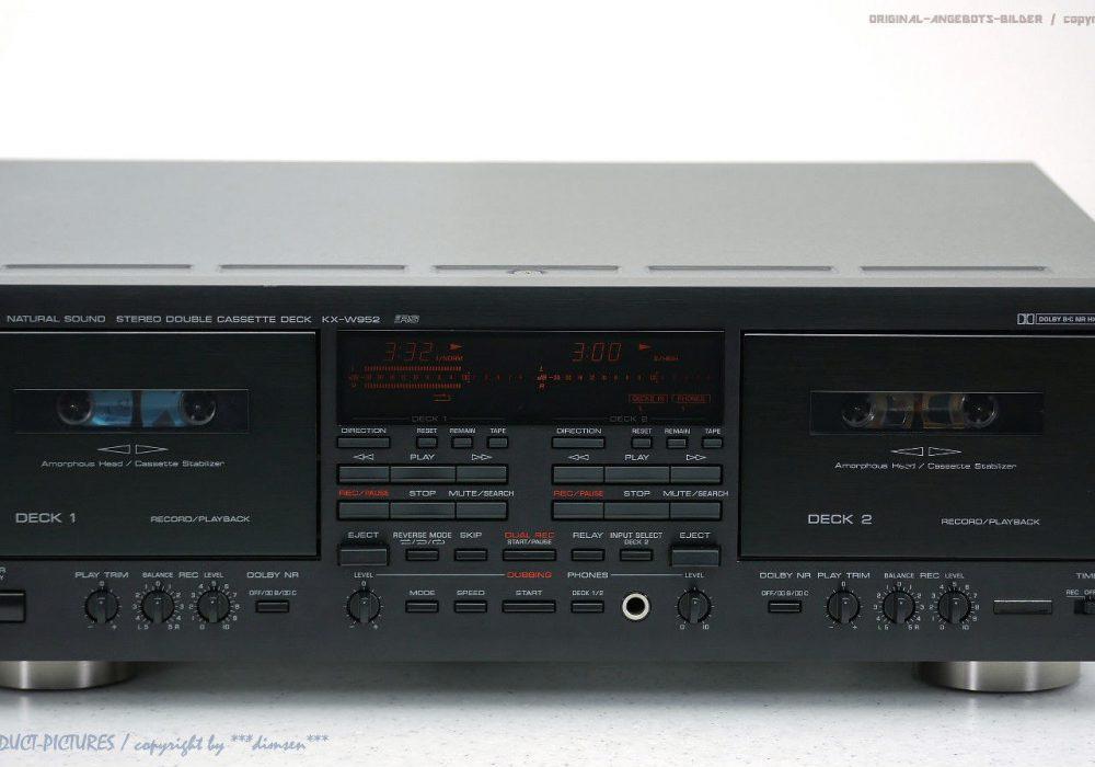 YAMAHA KX-W952 RS High-End 磁带n Tape 卡座!! Revidier+1j.Ga<wbr/>rantie!! Top!!
