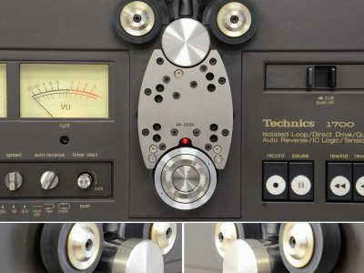 美品★Technics オープンリールデッキ RS-1700U ハードケース付