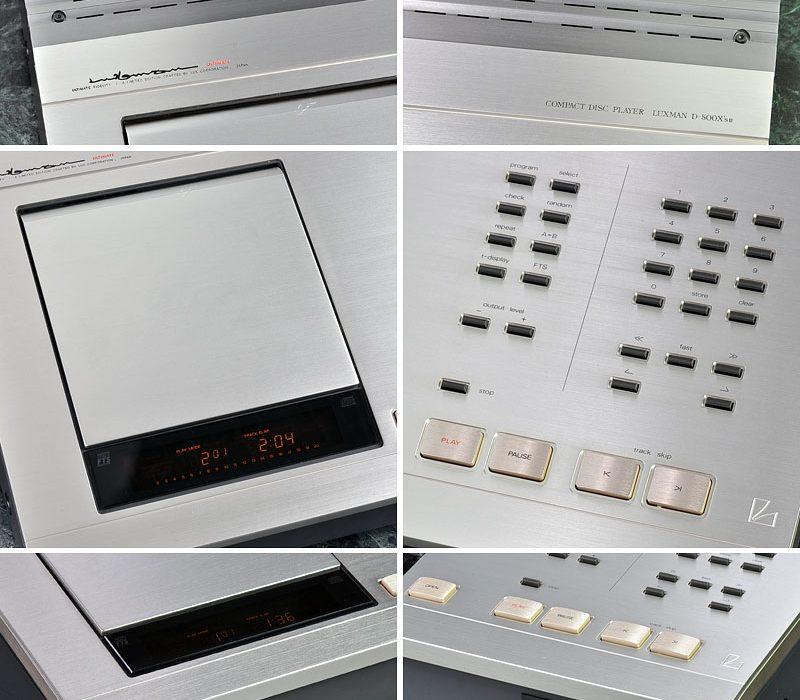 LUXMAN D-500X\'s II CD播放机