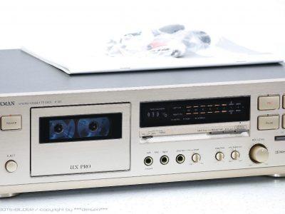 LUXMAN K-321 卡座