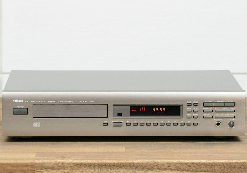雅马哈 YAMAHA CDX-730E CD-Player CD播放机