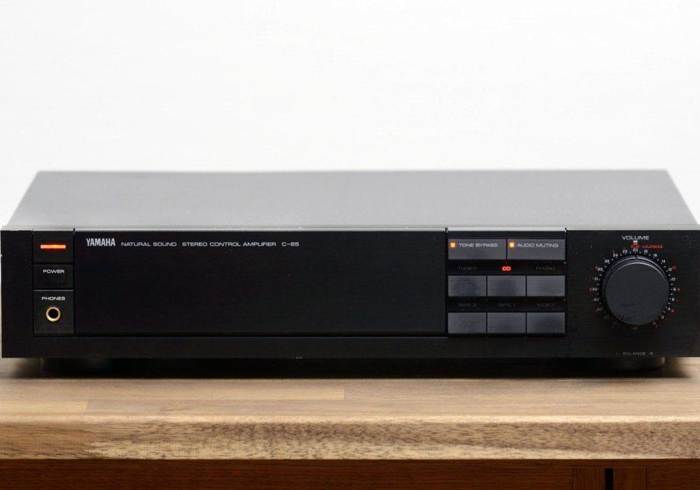 雅马哈 YAMAHA C-65 Control Amplifier 前级放大器