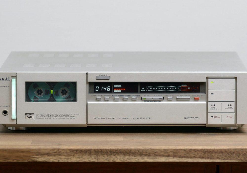 雅佳 AKAI GX-F71 卡座