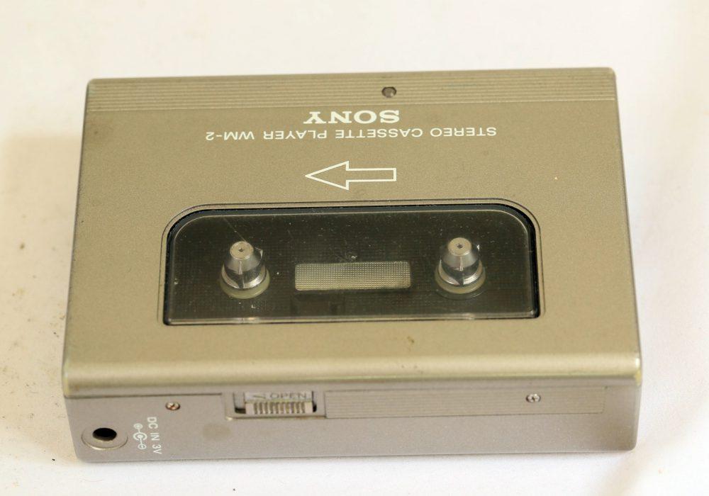 索尼 SONY WM-2 walkman boxed with all original accessories retro vintage