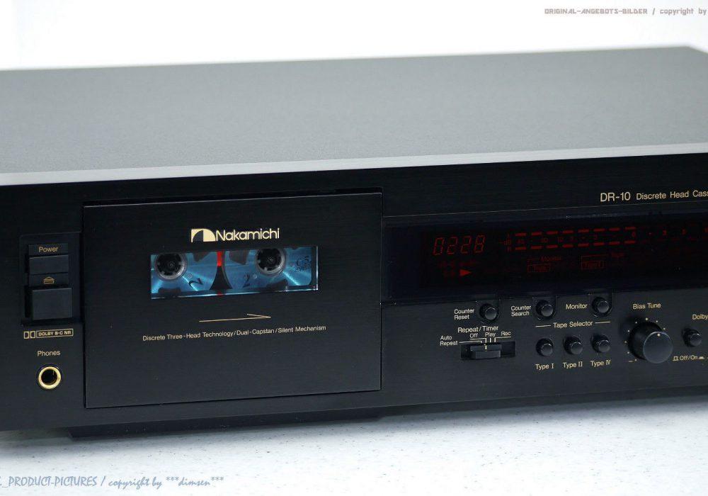 NAKAMICHI DR-10 High-End 磁带n Tape 卡座 1A-Zustand!! Revidiert+1J.G<wbr/>arantie!