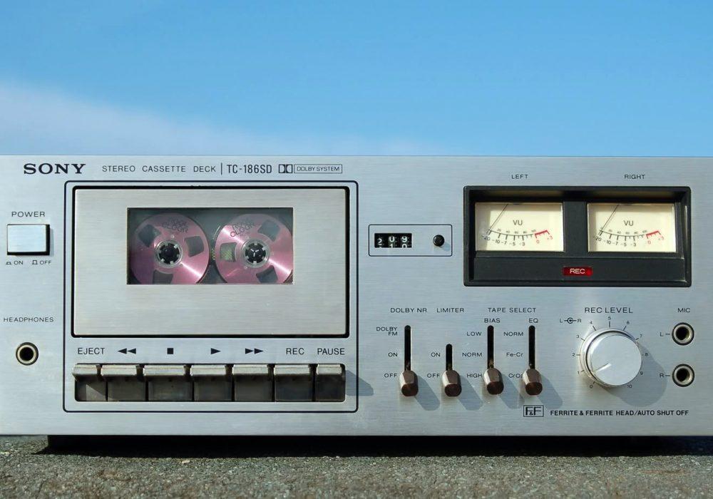 索尼 SONY TC-186SD 卡座