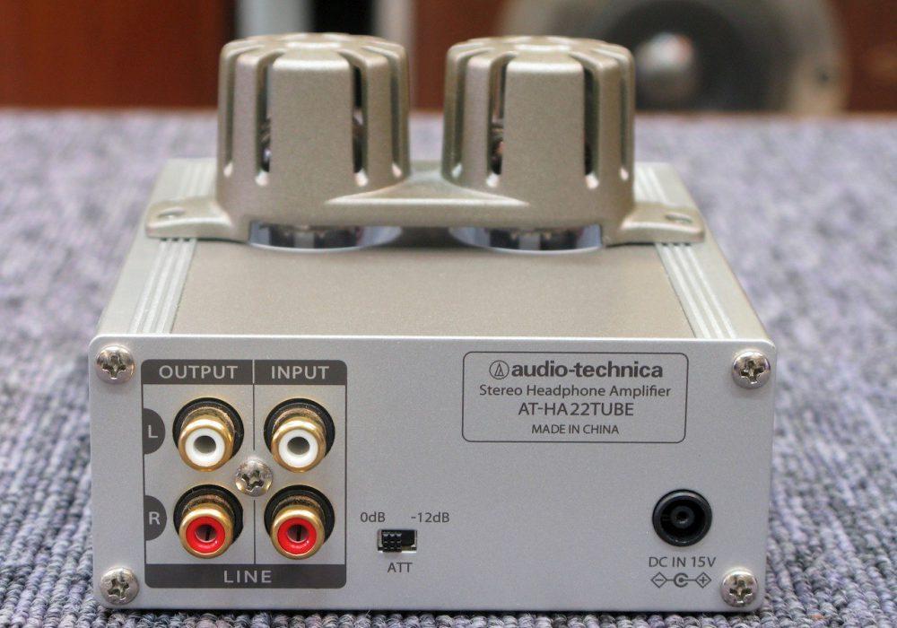 audio-technica AT-HA22TUBE 耳机放大器