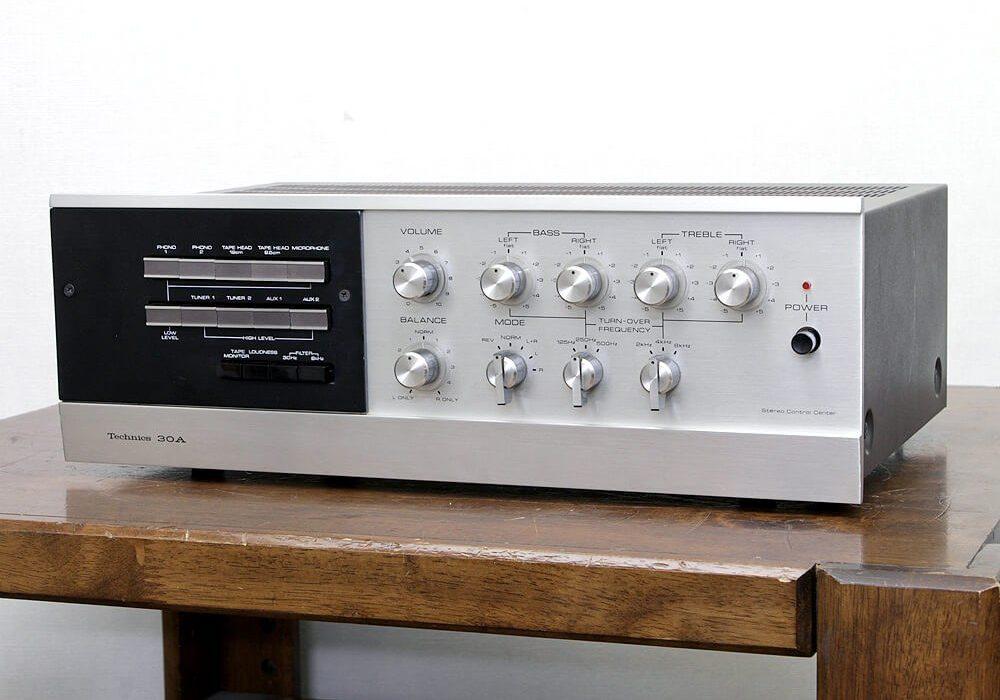 Technics 30A 电子管功率放大器