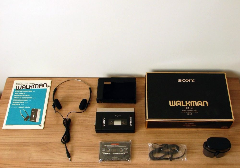索尼 SONY 随身听 WM-3 reproductor de 磁带 personales