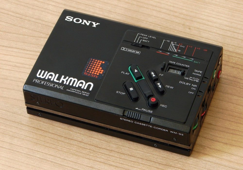 索尼 SONY WM-D3 Professional 磁带随身听