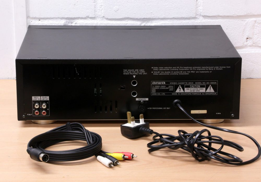 AIWA AD-S950K 3-HEAD 卡座