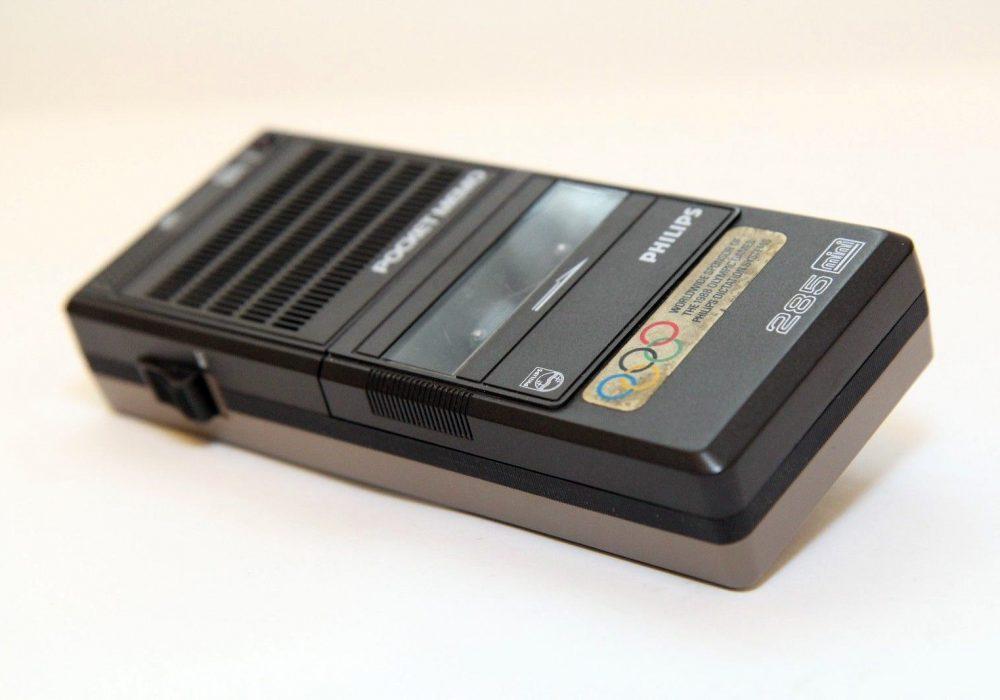 PHILIPS POCKET MEMO 285 mini 磁带录音机