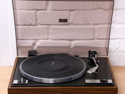 TRIO KD-1033 Belt drive 33 45 RPM turntable Hi-Fi record player 1970'S