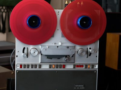 STUDER B67 顶级专业电台版两轨开盘机