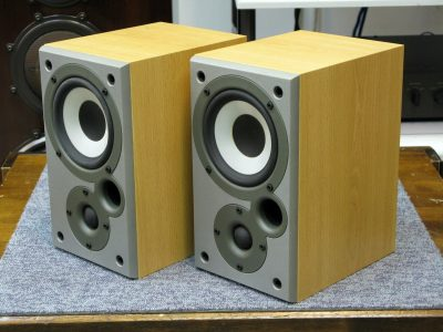 天龙 DENON SC-M5K 书架音箱