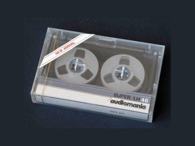 audiomania SUPER LH46 小开盘 盒式录音带