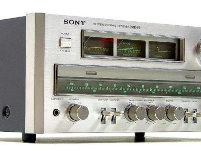 索尼 SONY STR-V6 FM/AM 收扩机