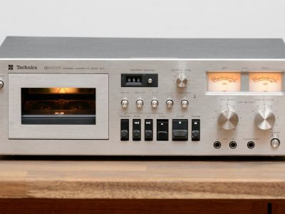 Technics 671 / RS-671 Tapedeck / Kassettendeck in silber