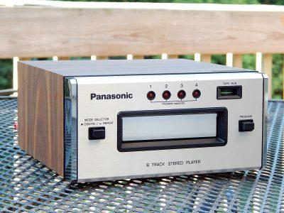 松下 Panasonic RS-807 8轨磁带卡座
